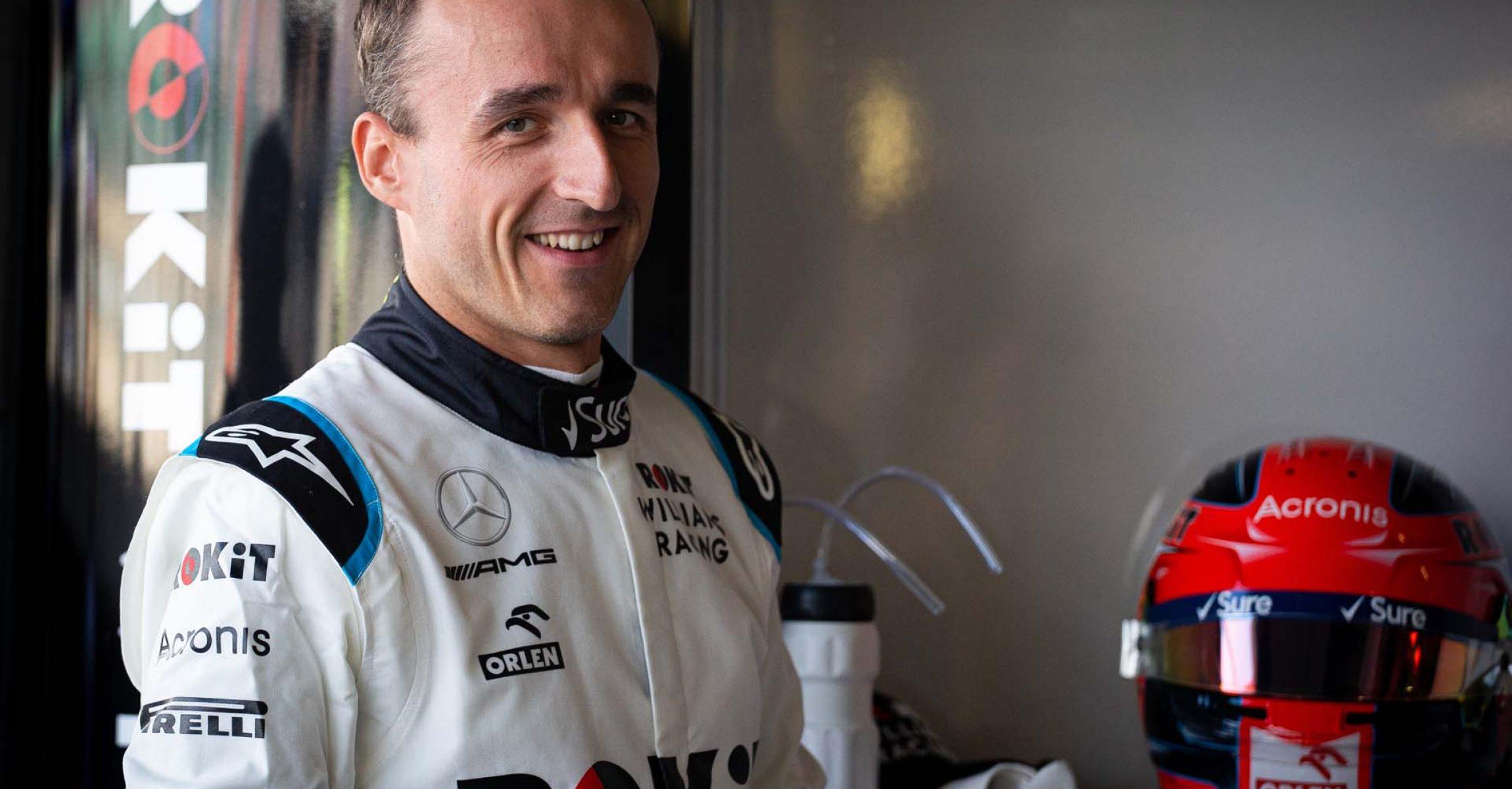 Robert Kubica (POL) Williams Racing. British Grand Prix, Friday 12th July 2019. Silverstone, England.