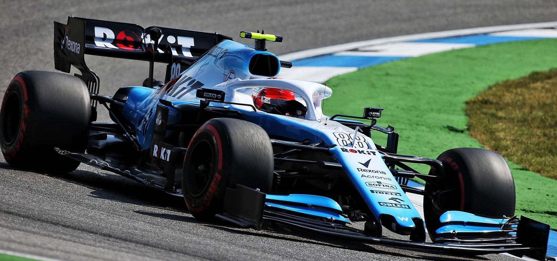 Robert Kubica (POL) Williams Racing FW42. German Grand Prix, Friday 26th July 2019. Hockenheim, Germany.