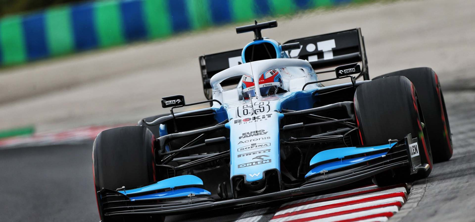 George Russell (GBR) Williams Racing FW42. Hungarian Grand Prix, Friday 2nd August 2019. Budapest, Hungary.