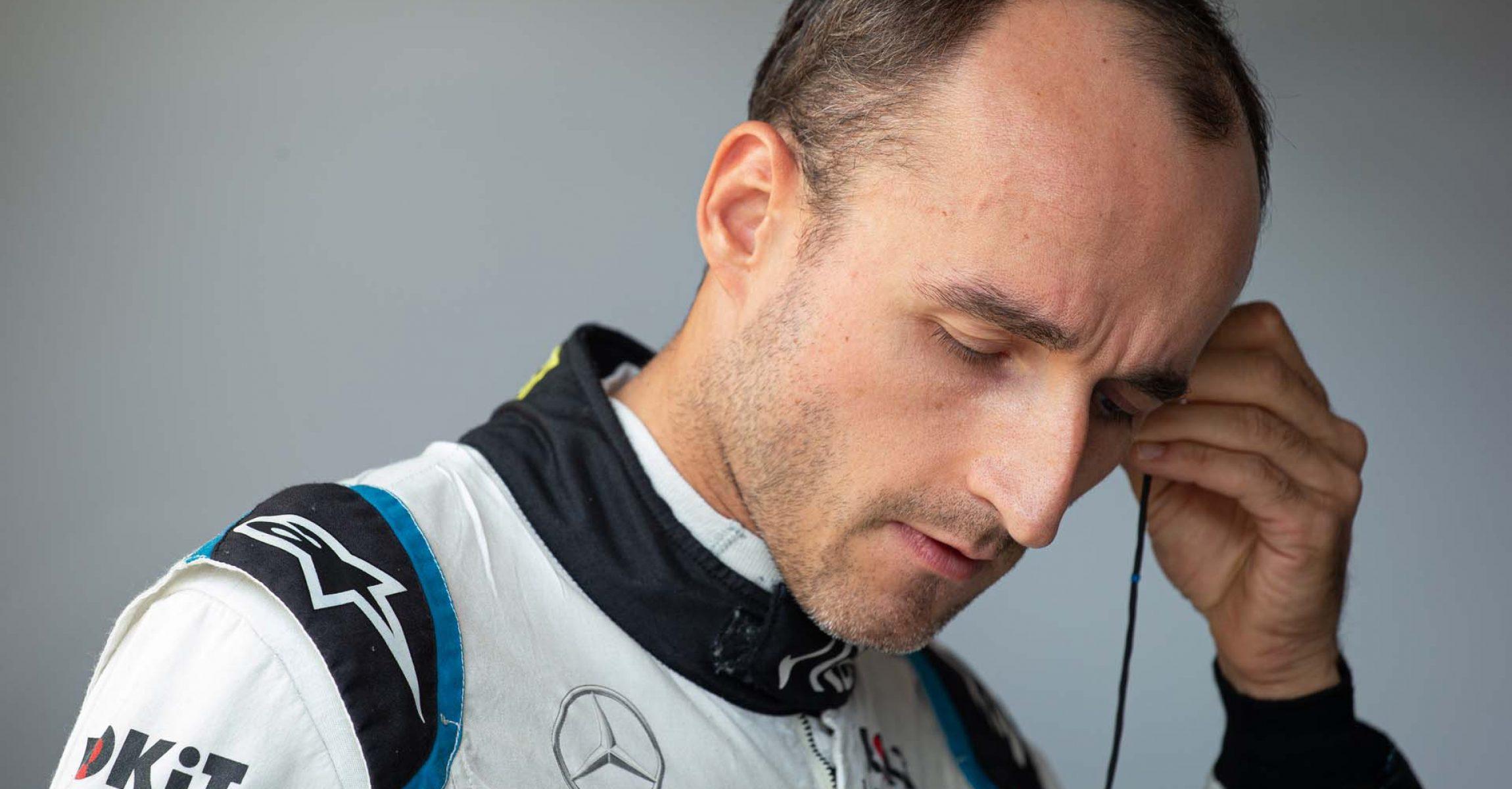 Robert Kubica (POL) Williams Racing. Hungarian Grand Prix, Saturday 3rd August 2019. Budapest, Hungary.