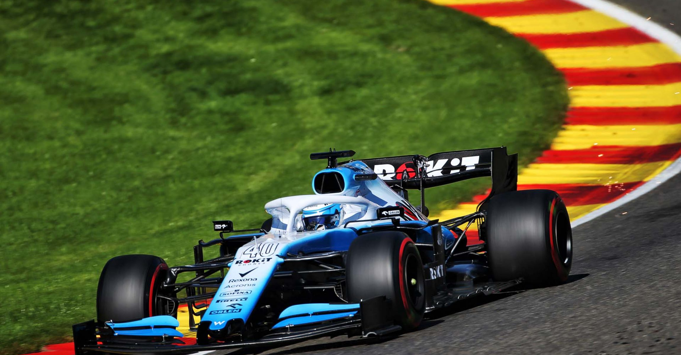 Nicholas Latifi (CDN) Williams Racing FW42 Test and Development Driver. Belgian Grand Prix, Friday 30th August 2019. Spa-Francorchamps, Belgium.