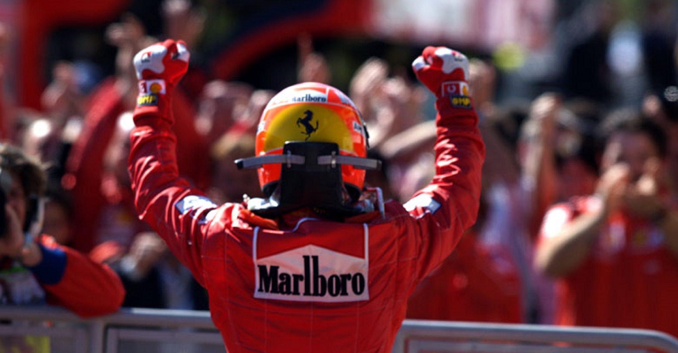 OLYMPUS DIGITAL CAMERA Michael Schumacher Ferrari 2001
