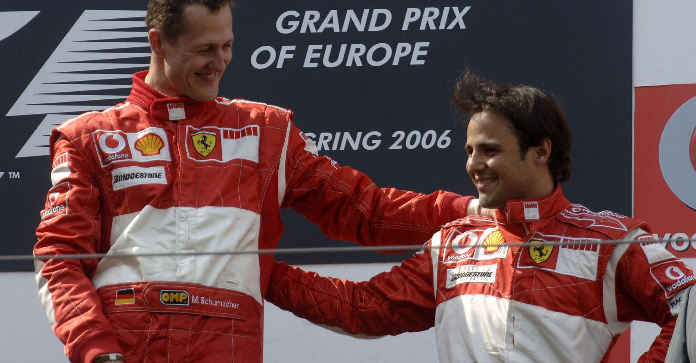 Michael Schumacher, Felipe Massa, Ferrari, 2006, European Grand Prix, Nürburgring