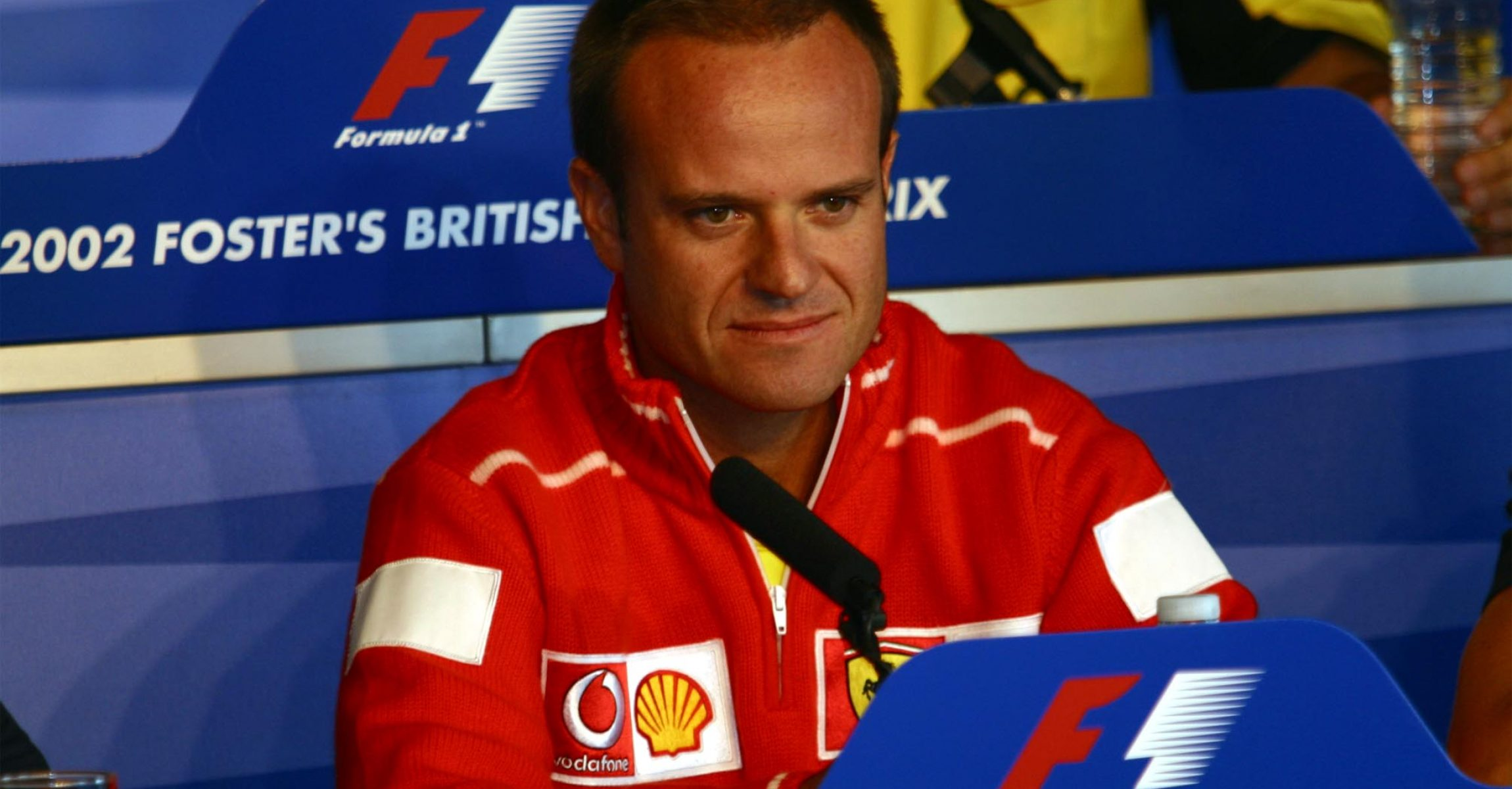 Rubens Barrichello, Ferrari, 2002 British Grand Prix, Silverstone