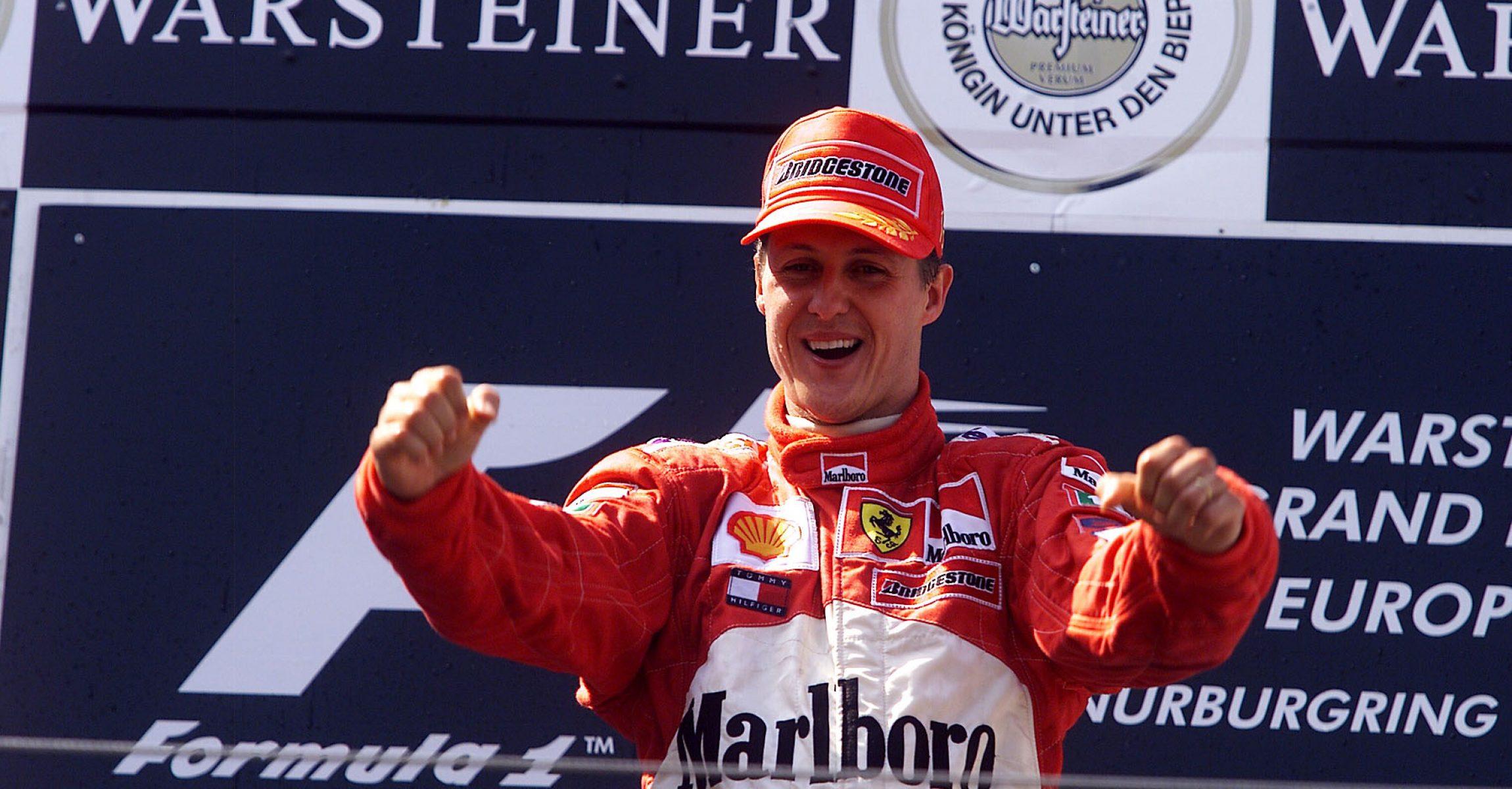 Michael Schumacher, Ferrari, CanadianGP2001,
