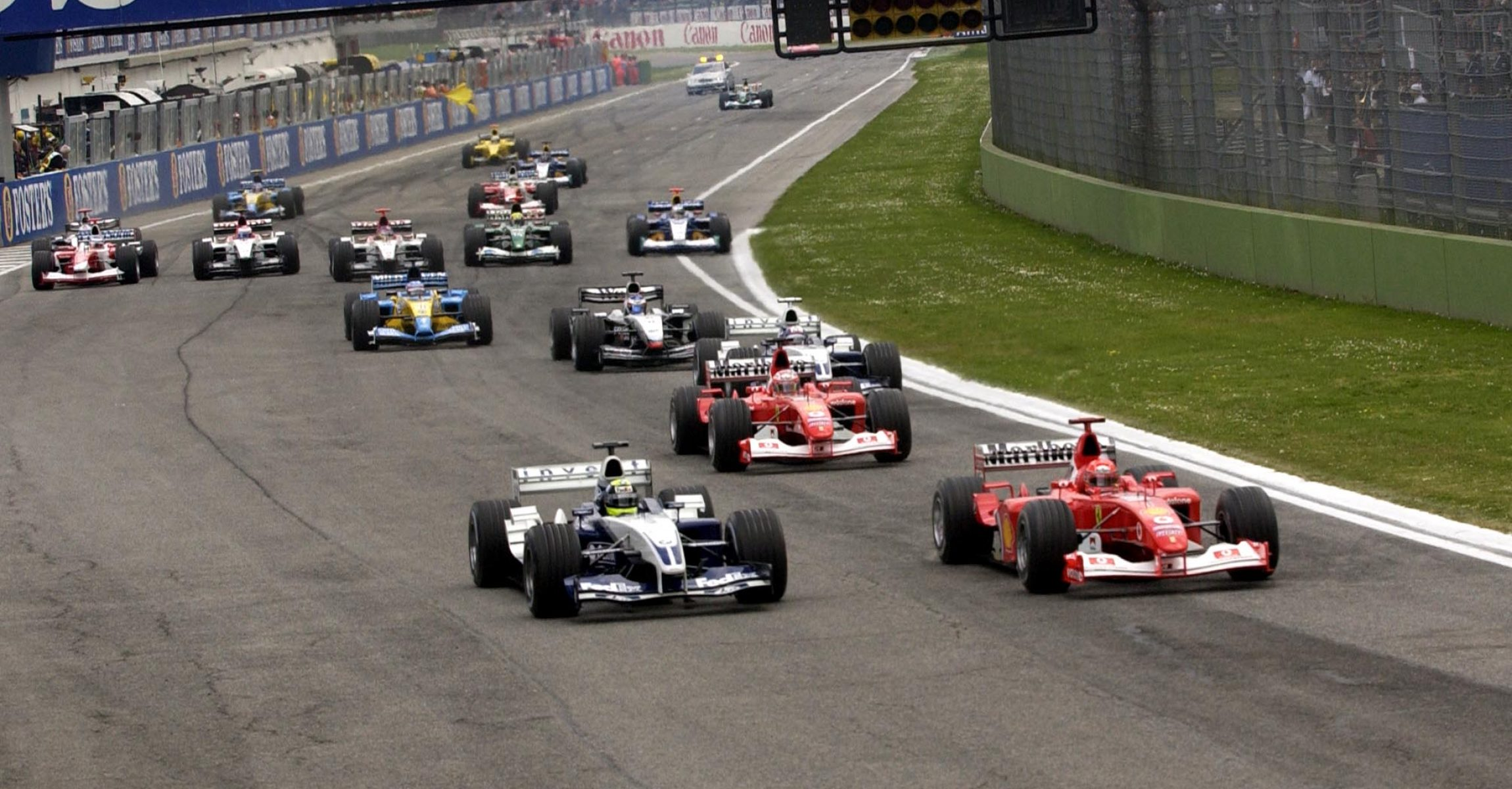 Imola, GP, Start, San Marino Grand Prix 2003,