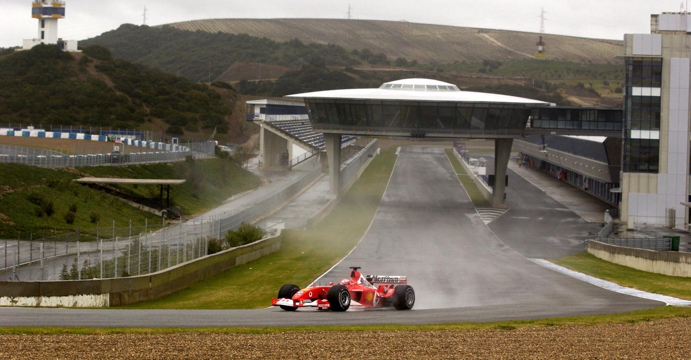 Michael Schumacher, Ferrari, Jerez de la Frontera, test, 2003