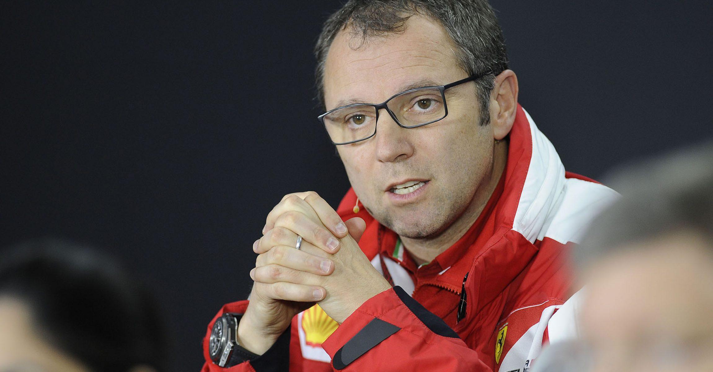 Stefano Domenicali Ferrari