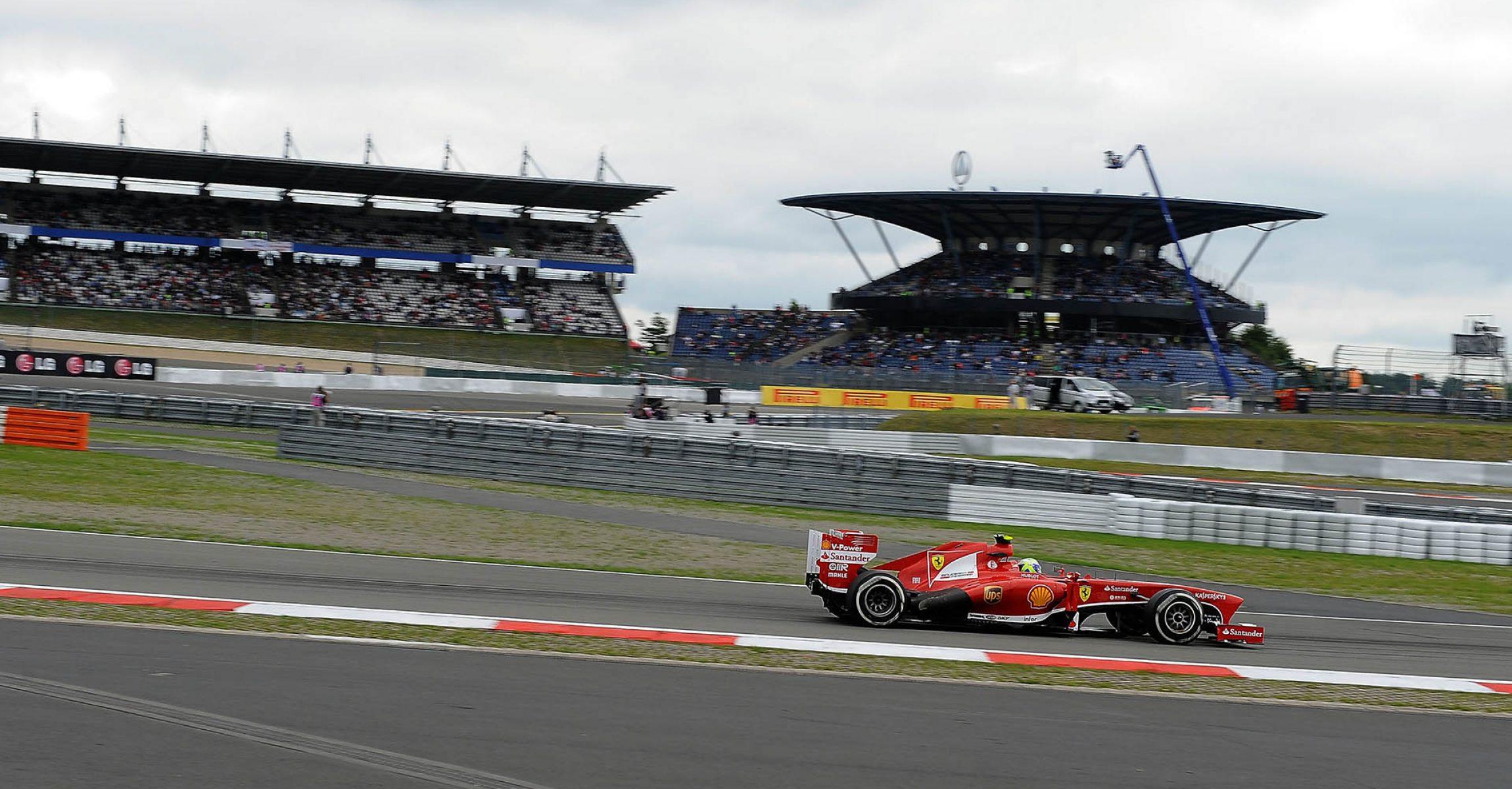 NUERBURGRING (GERMANIA) - 05/07/2013 © FOTO STUDIO COLOMBO X FERRARI Felipe Massa, Ferrari, 2013 German Grand Prix Nürburgring