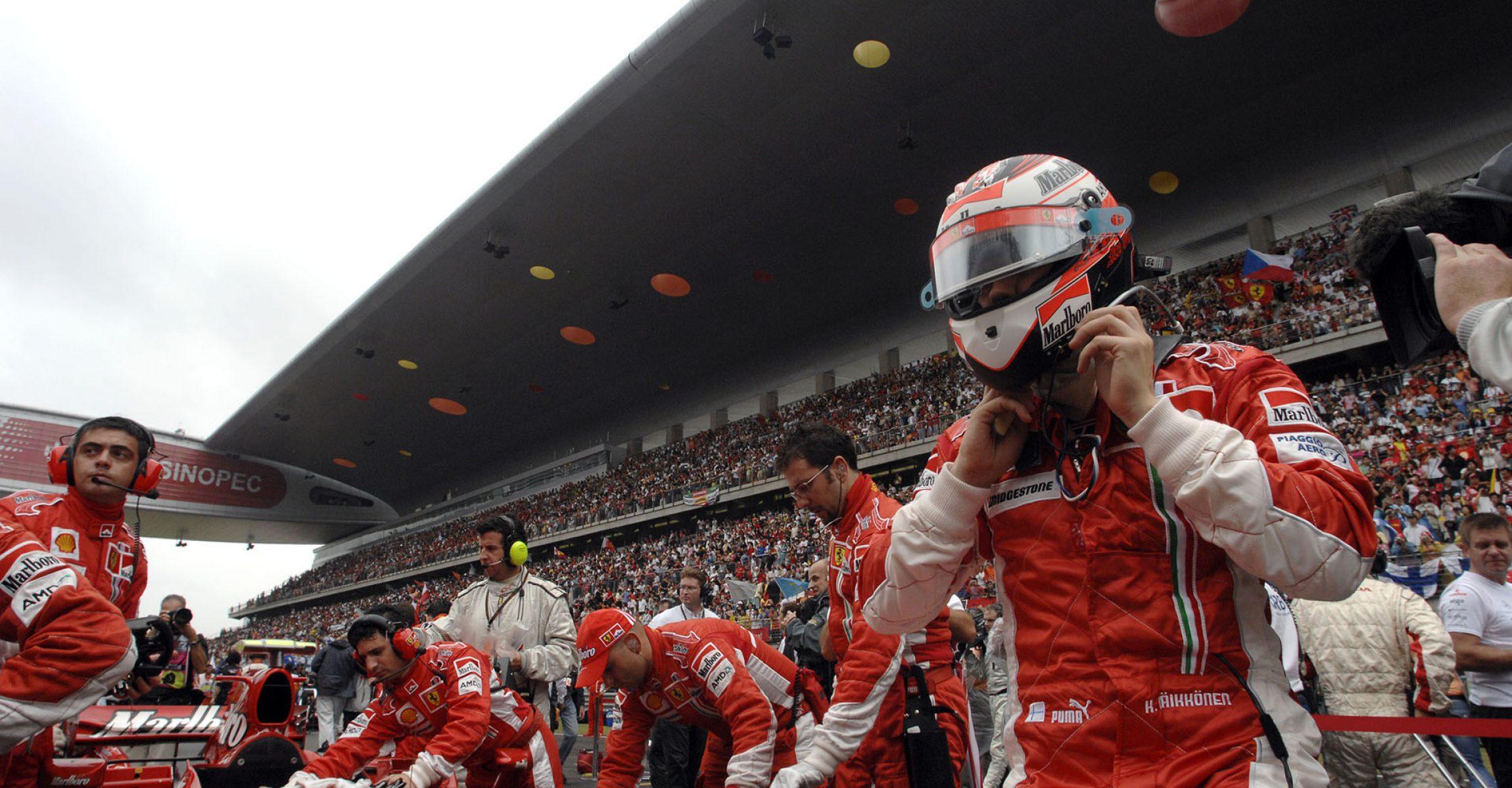 Kimi Räikkönen, Ferrari, 2007, Chinese Grand Prix, Shanghai