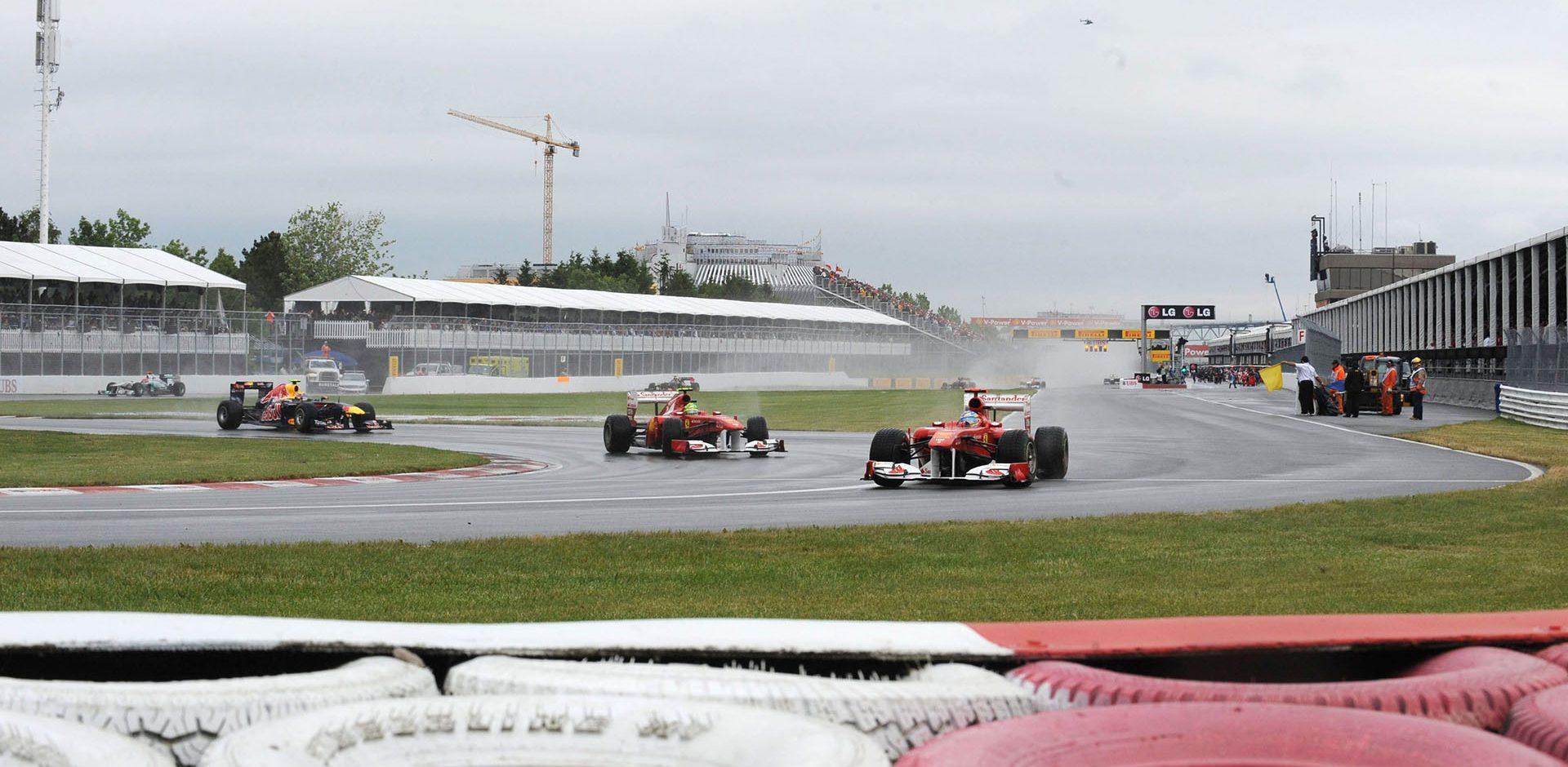 MONTREAL (CANADA) 12/06/2011 © FOTO ERCOLE COLOMBO Fernando Alonso Felipe Massa Ferrari Canadian Grand Prix 2011