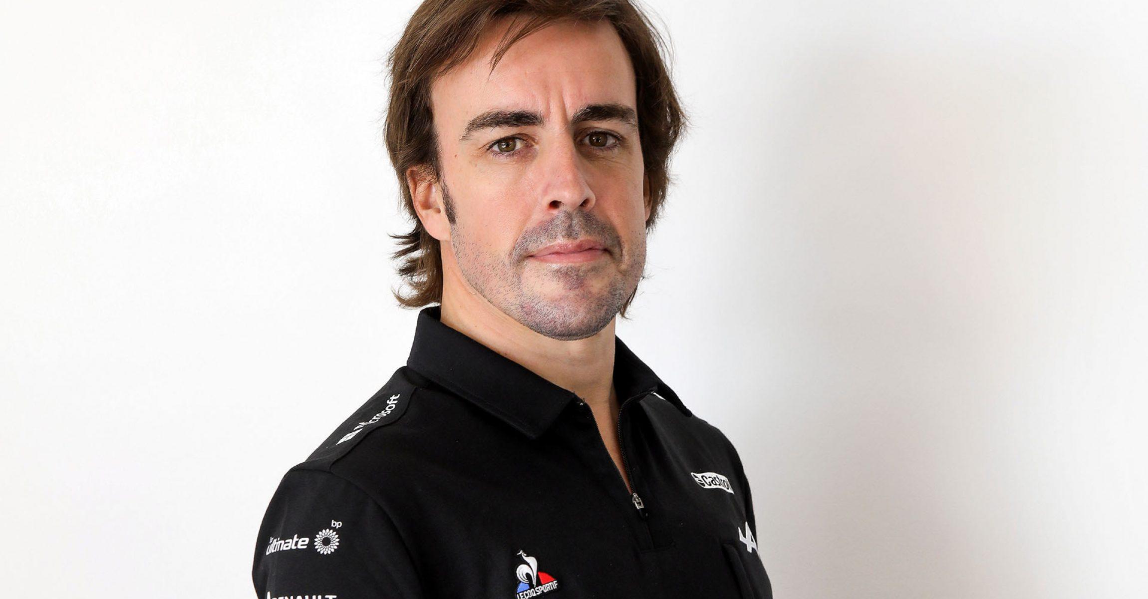 Fernando Alonso (ESP) Alpine F1 Team. Alpine F1 Team Launch, Tuesday 2nd March 2021.