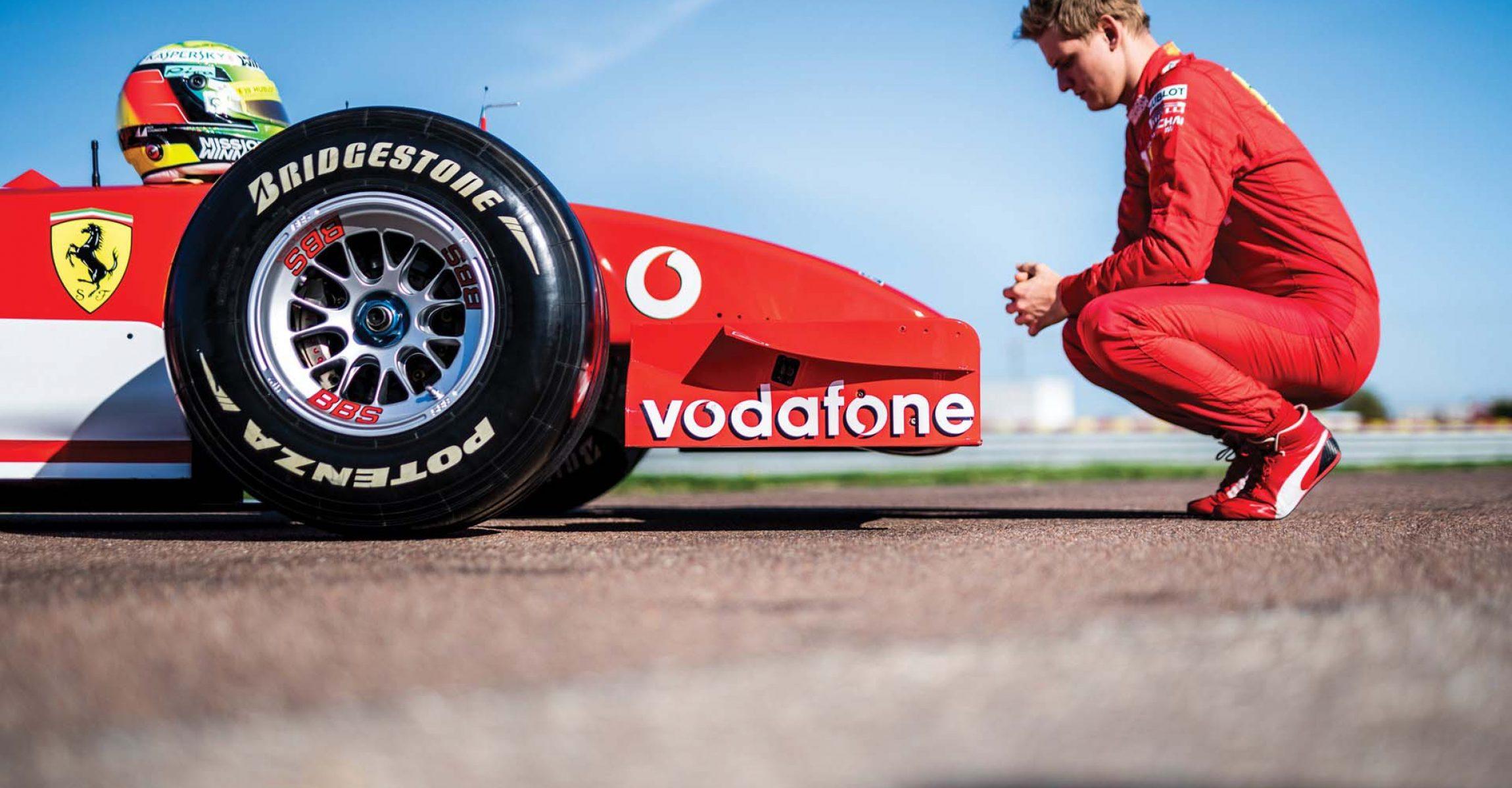 Mick Schumacher, Ferrari F2002, Fiorano, RM Sotheby's