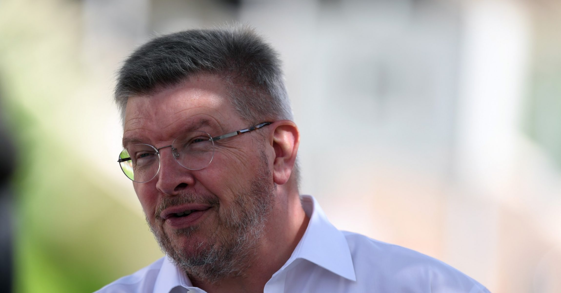 Ross Brawn (GBR) Formula One Managing Director of Motorsports at Formula One World Championship, Rd3, Bahrain Grand Prix Race, Bahrain International Circuit, Sakhir, Bahrain, Sunday 16 April 2017.