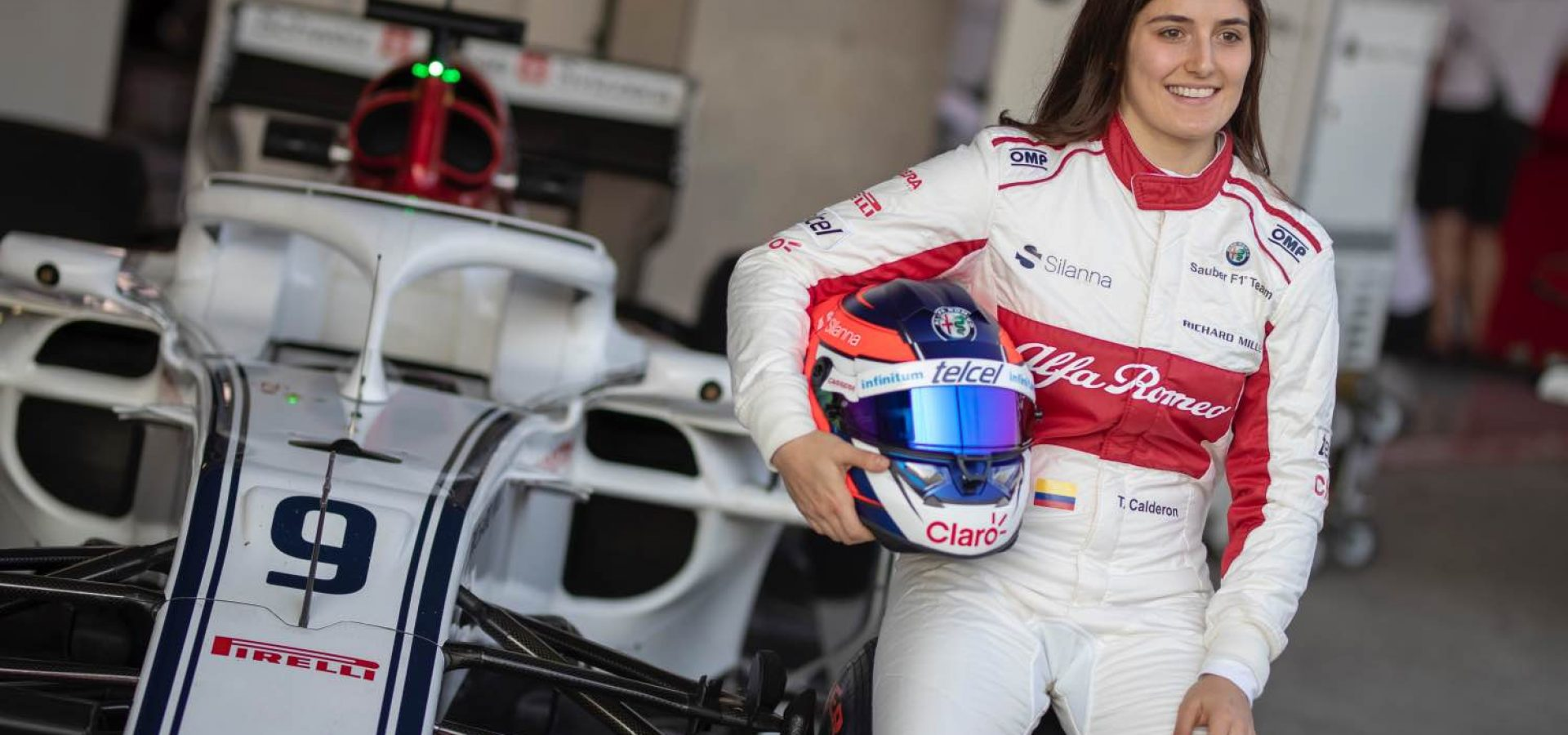 Tatiana Calderon, Alfa Romeo Sauber F1 Team Test Driver at Formula One World Championship, Rd19, Mexican Grand Prix, Practice, Circuit Hermanos Rodriguez, Mexico City, Mexico, Friday 26 October 2018.
