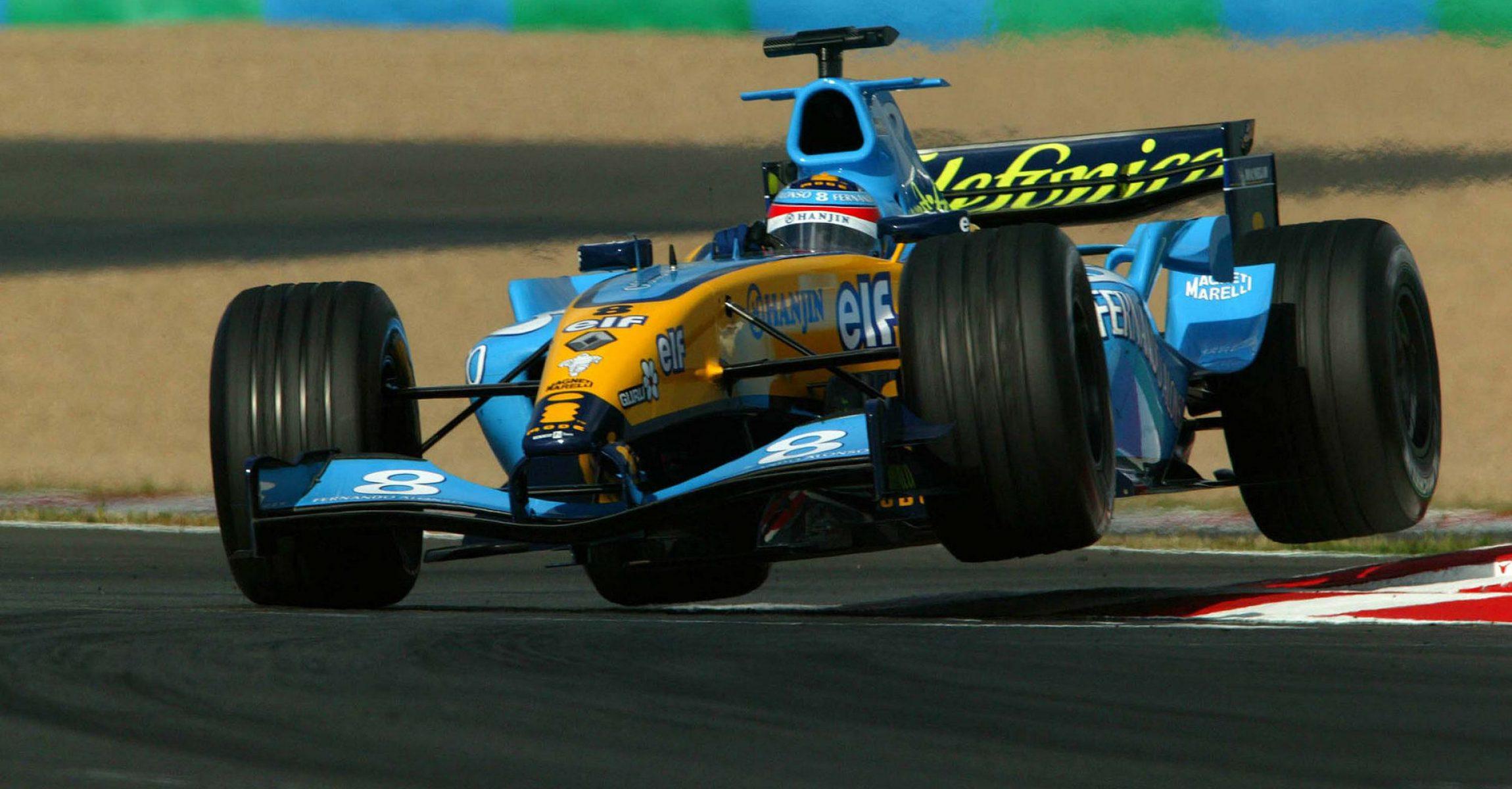 Fernando Alonso, Renault, 2006,