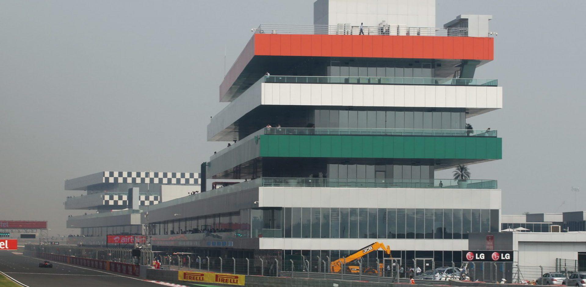 Nico Hülkenberg (GER) Sahara Force India F1 VJM05. Indian Grand Prix, Friday 26th October 2012. Greater Noida, New Delhi, India.