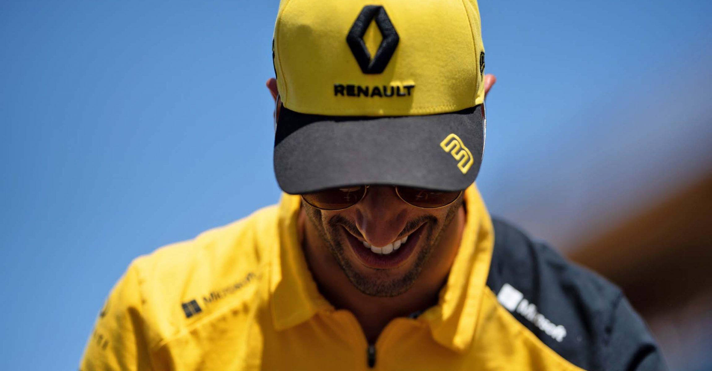 Daniel Ricciardo (AUS) Renault F1 Team on the drivers parade. Canadian Grand Prix, Sunday 9th June 2019. Montreal, Canada.