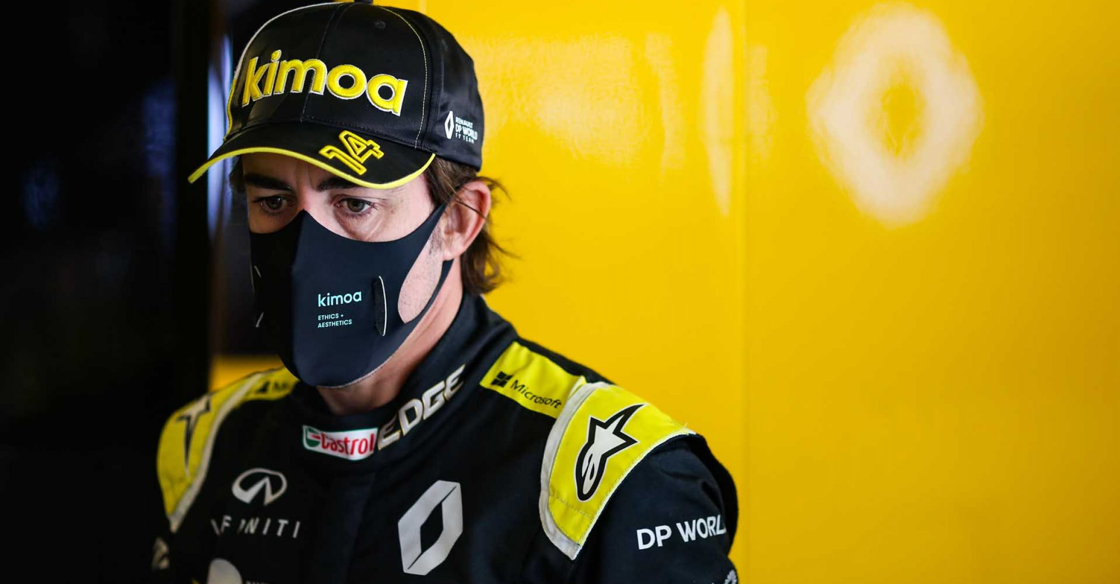 Fernando Alonso (ESP) Renault F1 Team. Formula One Testing, Tuesday 15th December 2020. Yas Marina Circuit, Abu Dhabi, UAE.