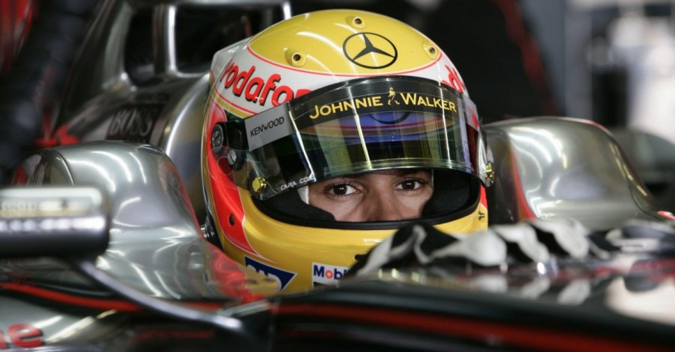 Lewis Hamilton, McLaren, 2008