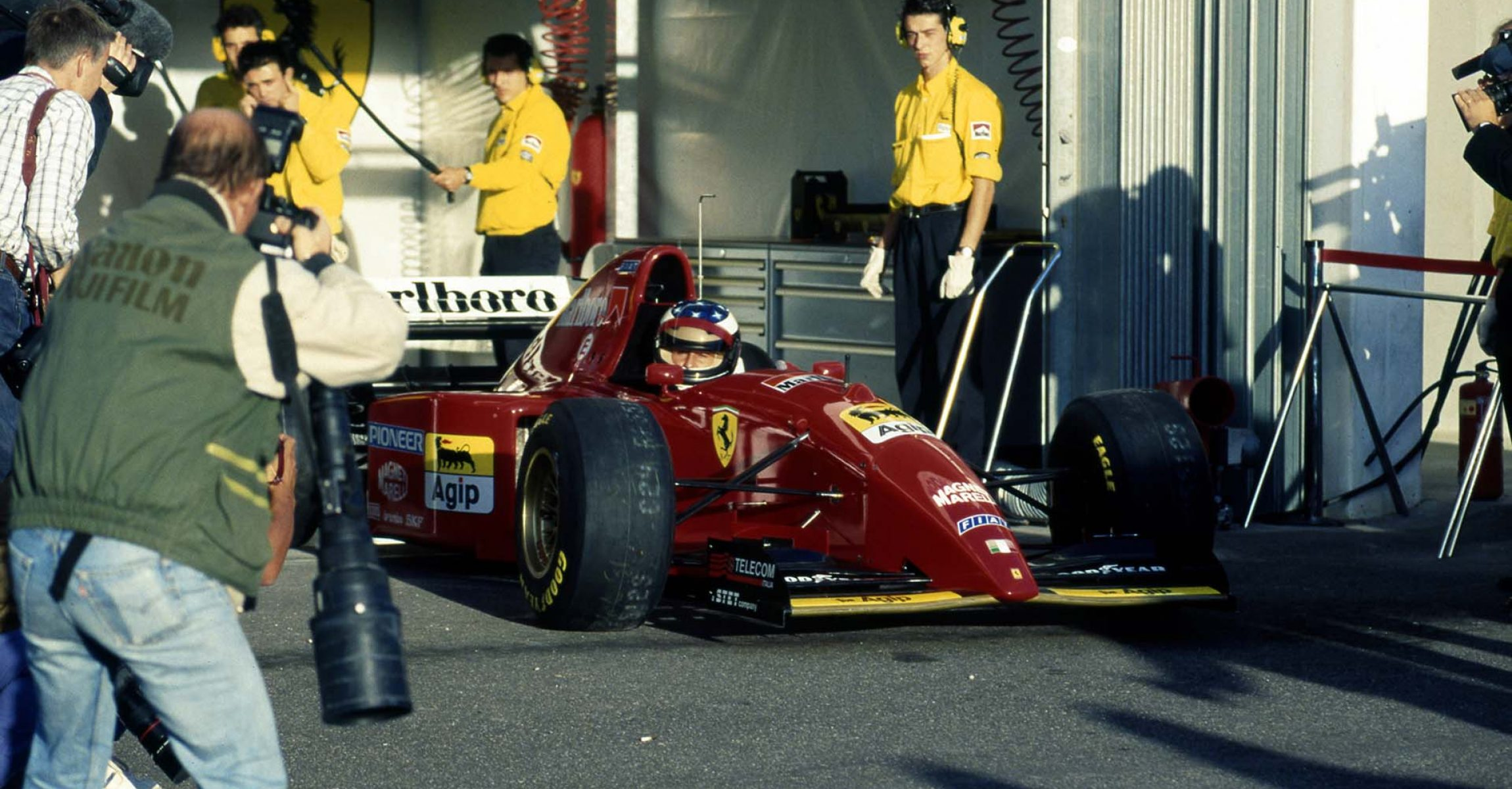 Michael Schumacher Ferrari 412 T2