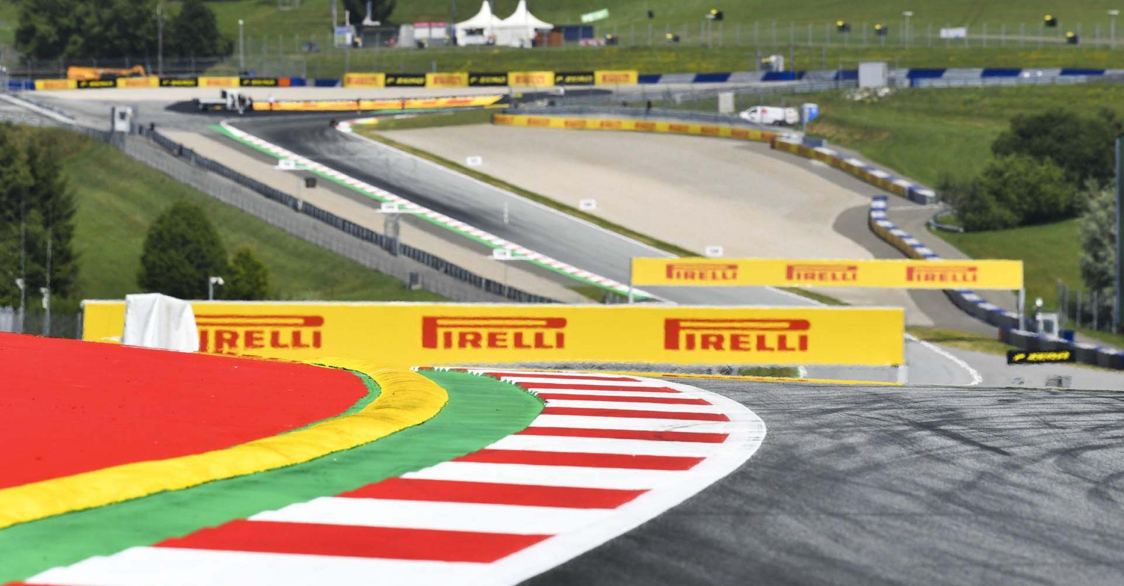 F1, Red Bull Ring, Pirelli, kerbs
